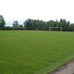 Založení fotbalového hřiště travními koberci